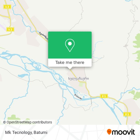 Mk Tecnology map