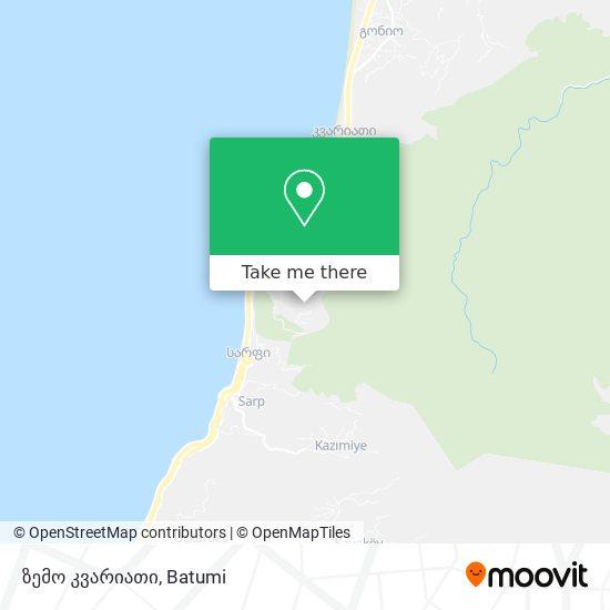 ზემო კვარიათი map