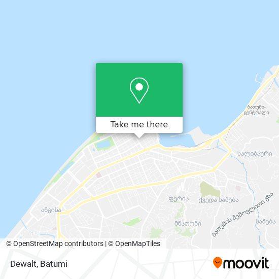 Dewalt map