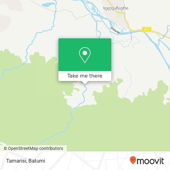 Tamarisi map