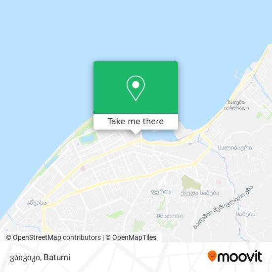 ვაიკიკი map