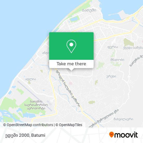ედემი 2000 map