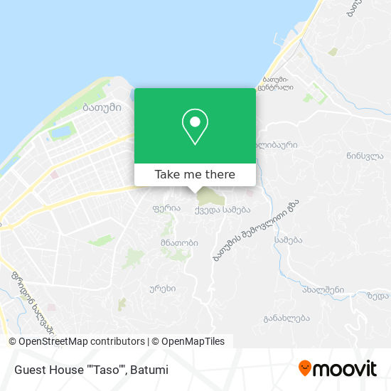 """Guest House """"""""Taso"""""""" map"""