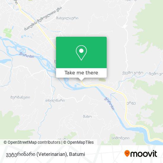 ვეტერინარი (Veterinarian) map