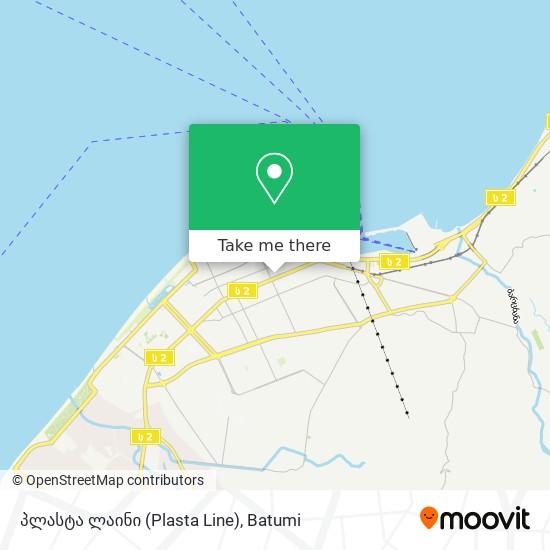 პლასტა ლაინი (Plasta Line) map