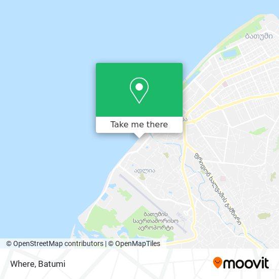 Where map