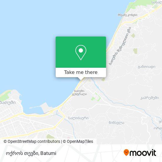 ოქროს თევზი map