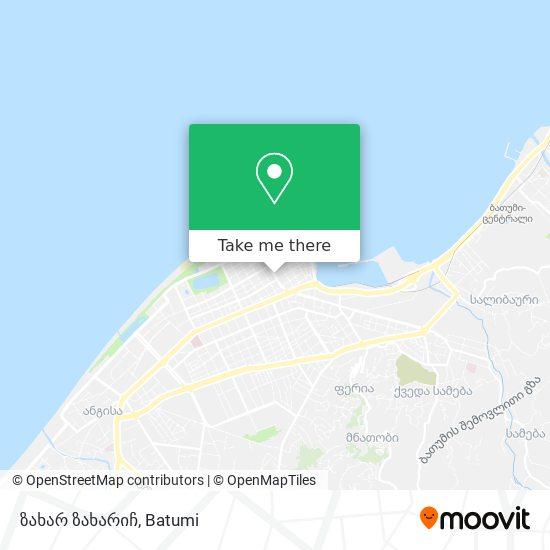 ზახარ ზახარიჩ map