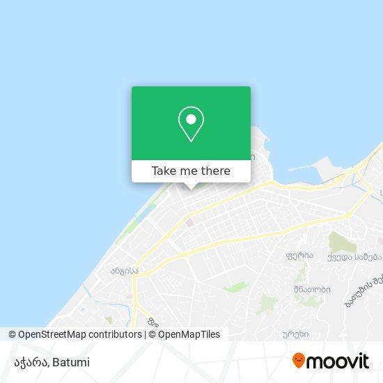აჭარა map