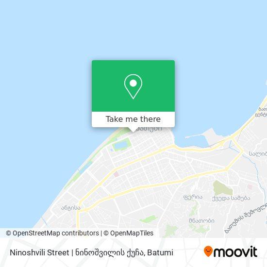 Ninoshvili Street   ნინოშვილის ქუჩა map