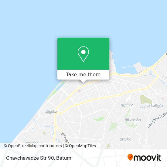 Chavchavadze Str 90 map