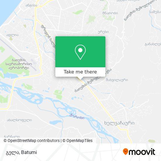 Карта გელა