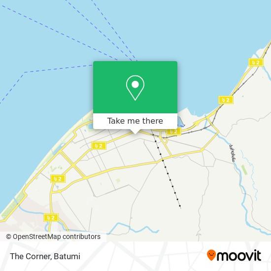 Карта The Corner