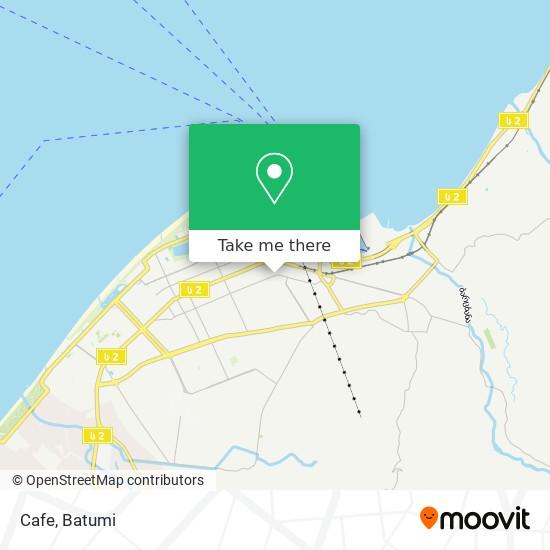 Карта Cafe