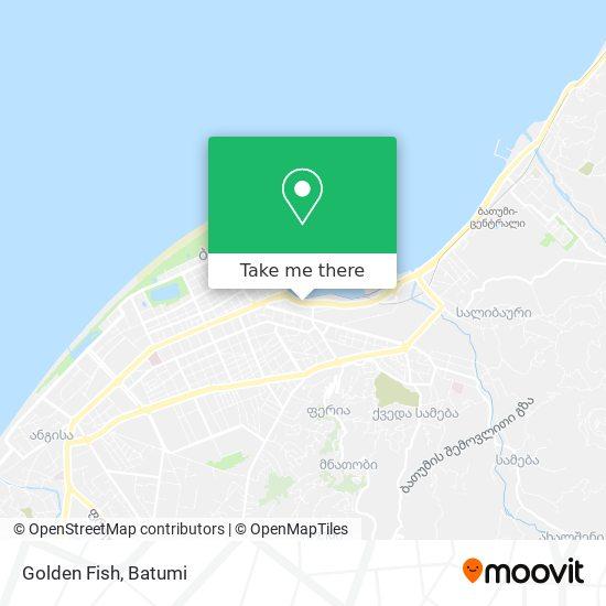 Golden Fish map