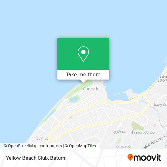 Yellow Beach Club map