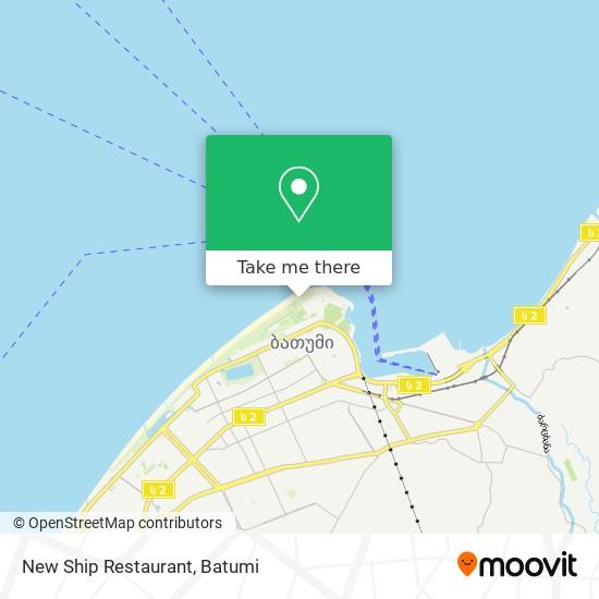 New Ship Restaurant map