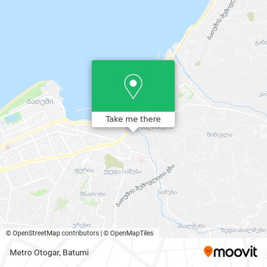 Metro Otogar map