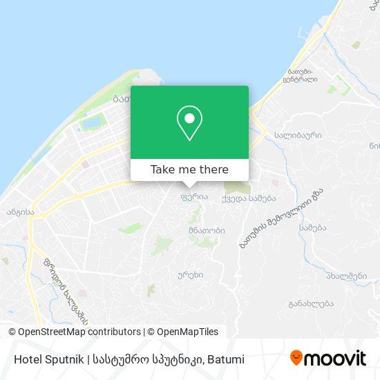 Hotel Sputnik | სასტუმრო სპუტნიკი map