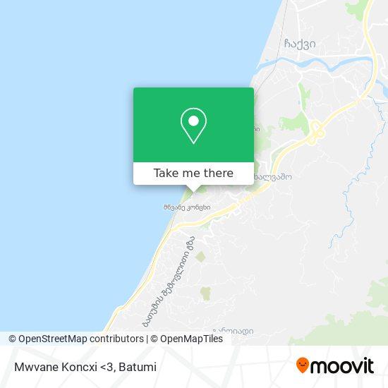 Mwvane Koncxi <3 map