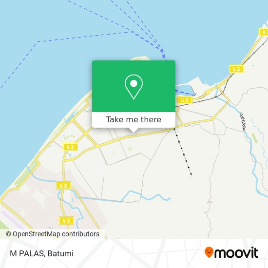 M PALAS map