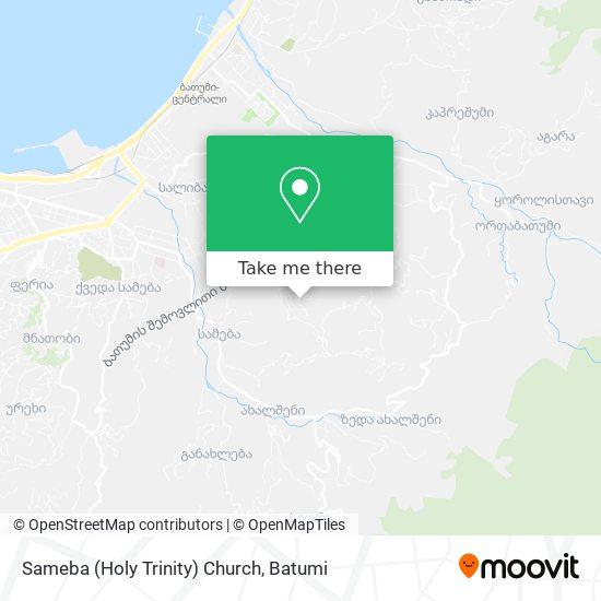 Sameba (Holy Trinity) Church map
