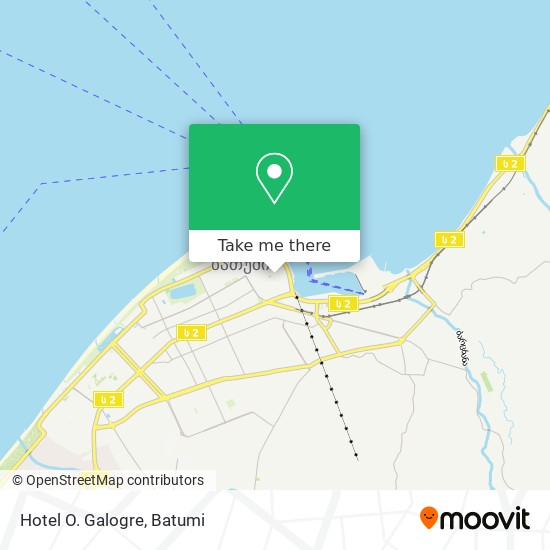 Hotel O. Galogre map