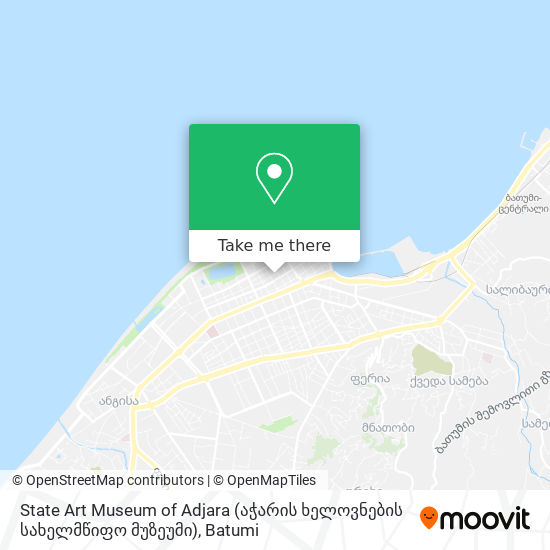 State Art Museum of Adjara (აჭარის ხელოვნების სახელმწიფო მუზეუმი) map