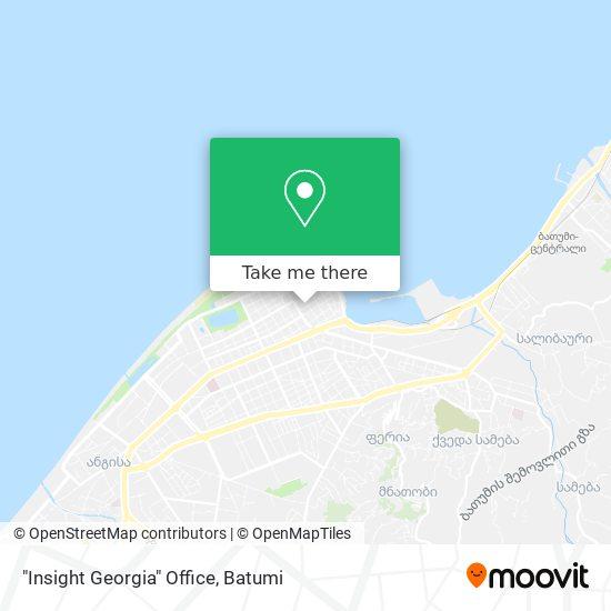 """Insight Georgia"" Office map"