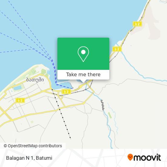 Balagan N 1 map