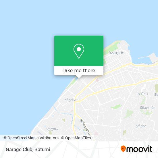 Garage Club map