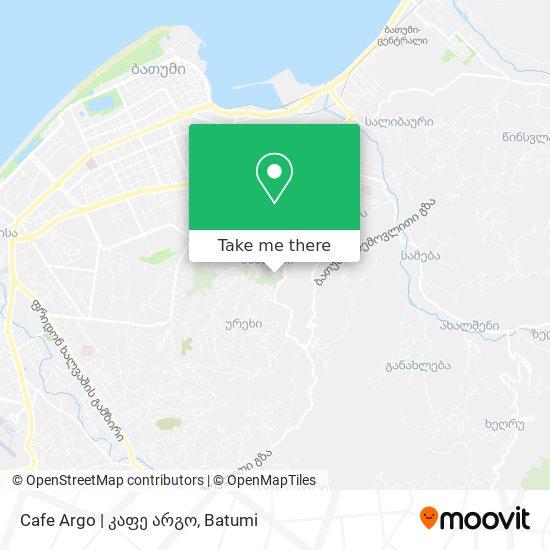 Cafe Argo   კაფე არგო map