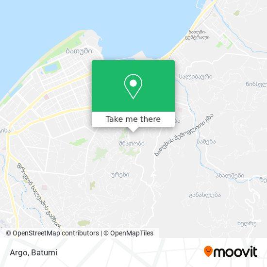 Argo map