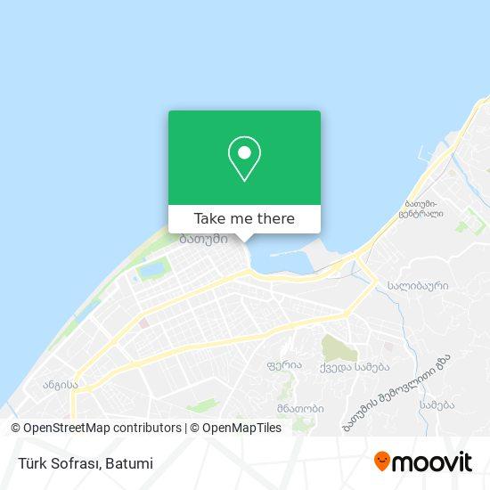 Türk Sofrası map