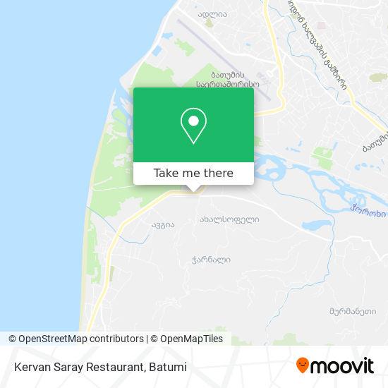 Kervan Saray Restaurant map
