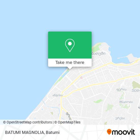 BATUMI MAGNOLIA map