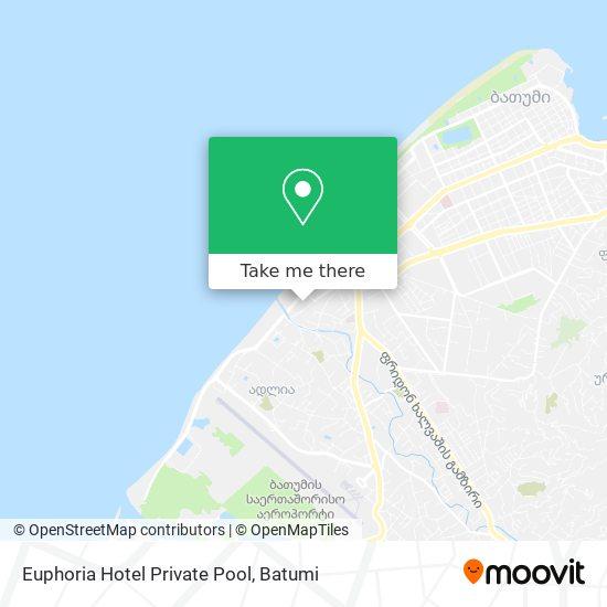 Euphoria Hotel Private Pool map