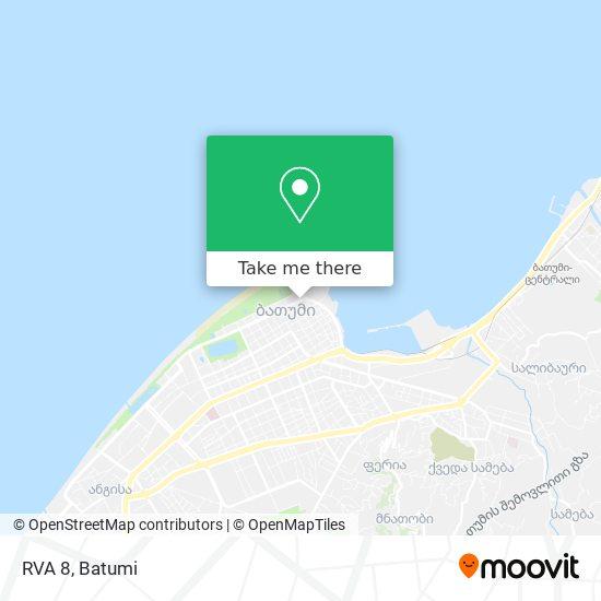 RVA 8 map