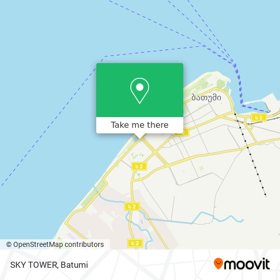 SKY TOWER map