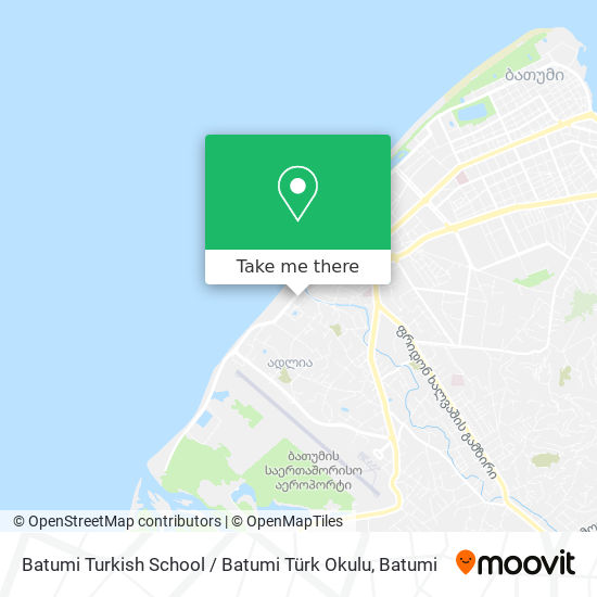 Batumi Turkish School / Batumi Türk Okulu map