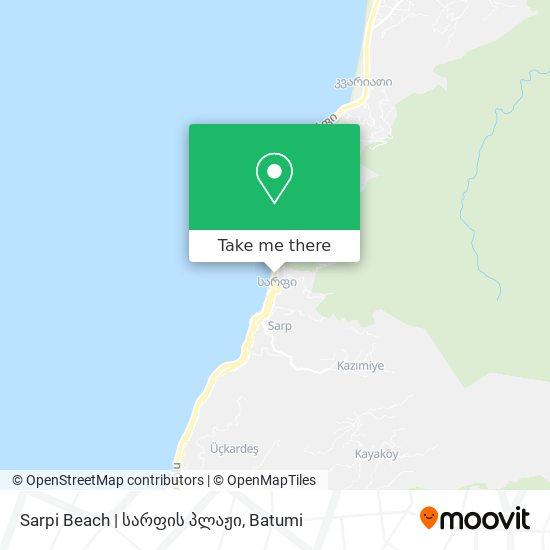 Sarpi Beach | სარფის პლაჟი map