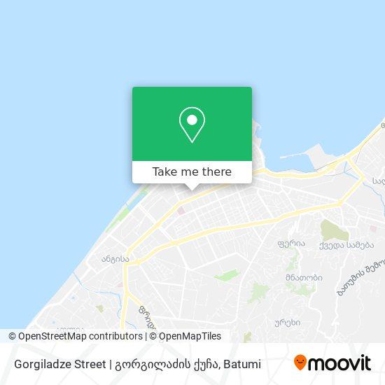 Gorgiladze Street | გორგილაძის ქუჩა map