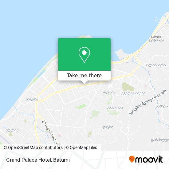 Grand Palace Hotel map
