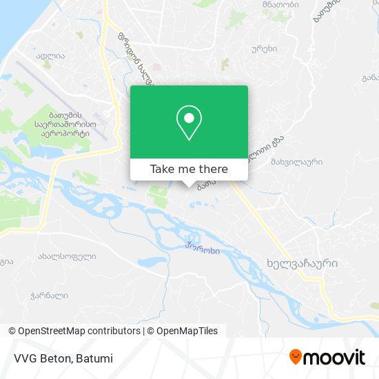 Карта VVG Beton