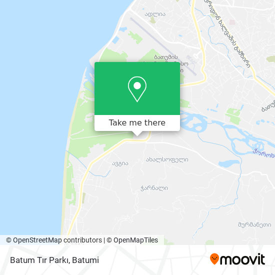 Batum Tır Parkı map