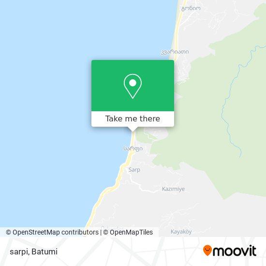 sarpi map