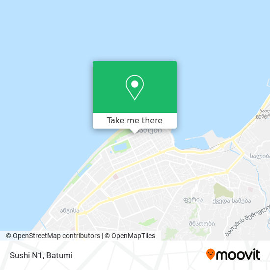 Sushi N1 map