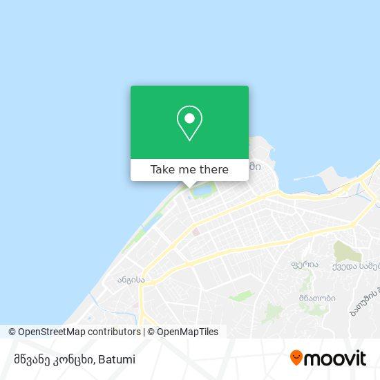მწვანე კონცხი map