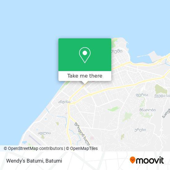 Wendy's Batumi map