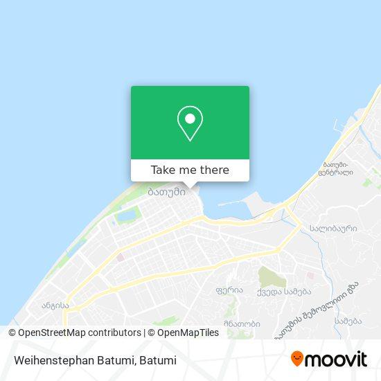 Weihenstephan Batumi map